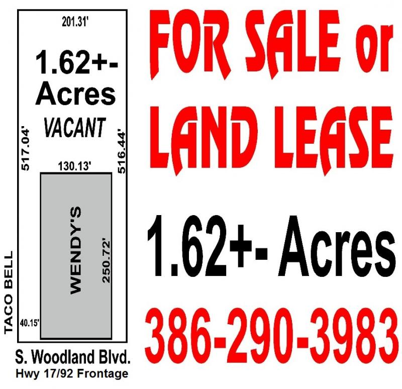 1.62 acre woodland blvd