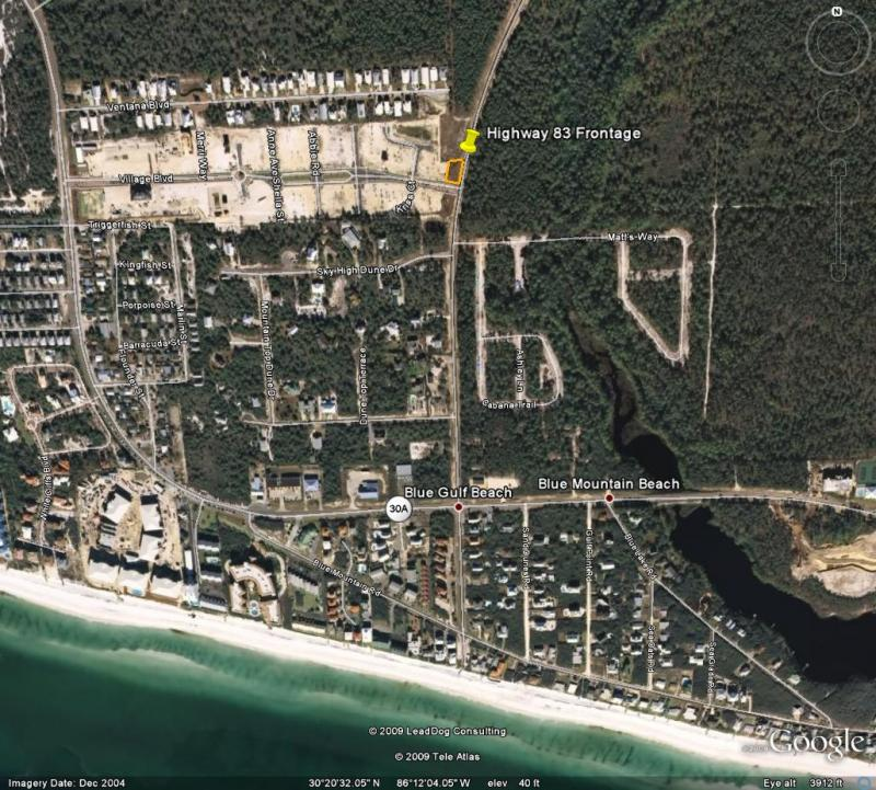 Blue Mountian/ Blue Gulf Beach Area
