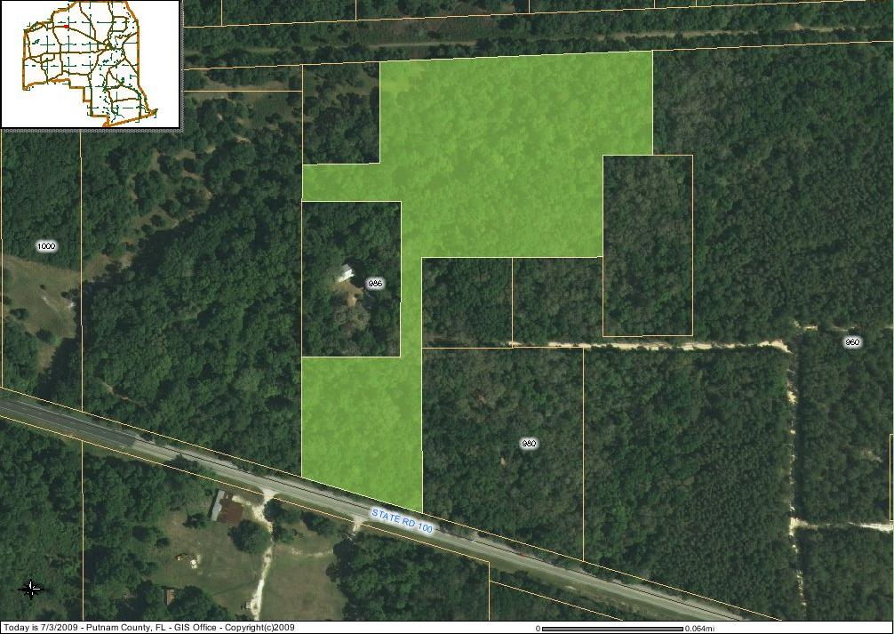 9 Acres, irregularly shaped