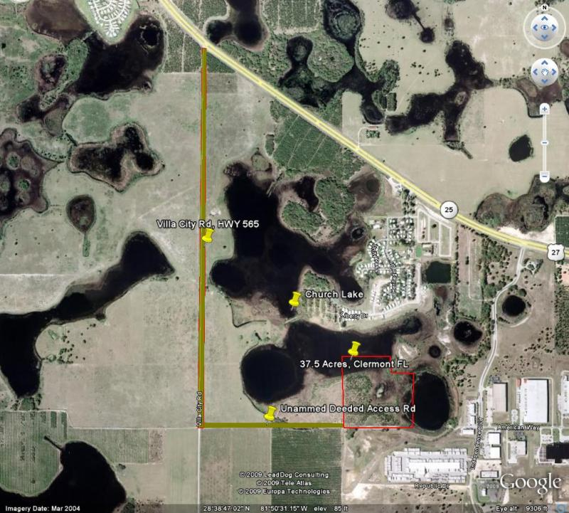 117 Acre Lakefront 20 Min W. Of Orland