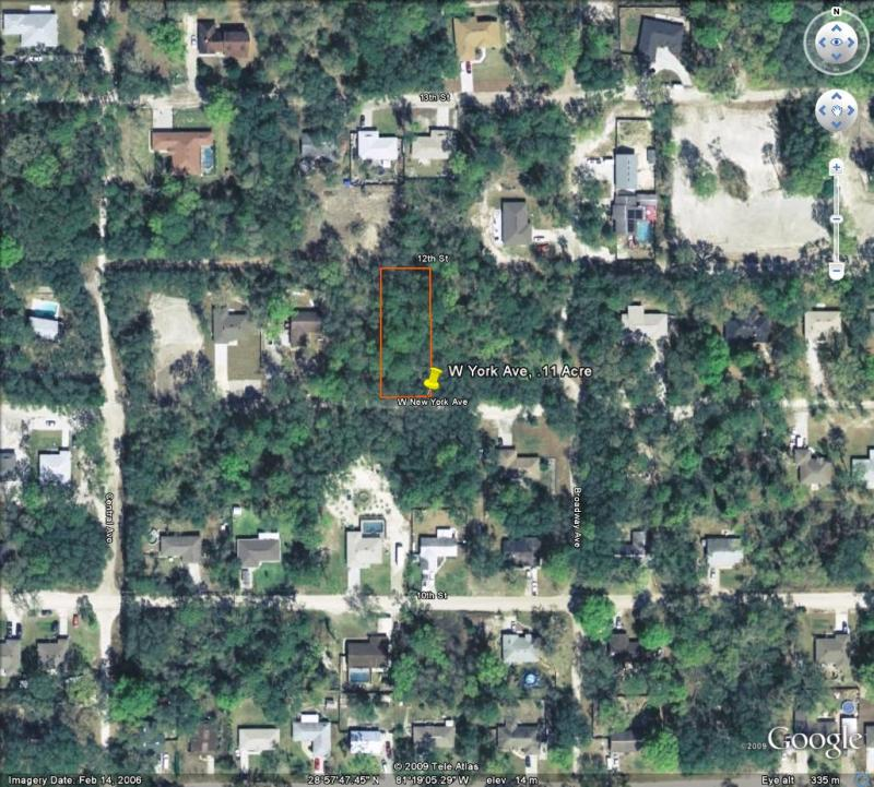 w york ave, .11 acre